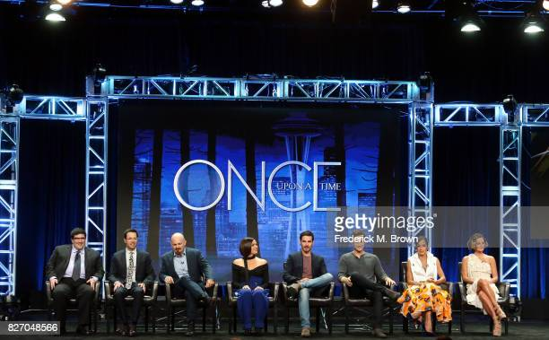Creator/executive producers Adam Horowitz Edward Kitsis executive producer David H Goodman actors Lana Parilla Colin O'Donoghue Andrew J West Dania...