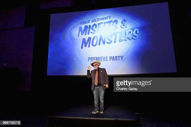 Creator/Executive Producer/Writer Bobcat Goldthwait speaks onstage during Bobcat Goldthwait's Misfits Monsters Premiere Event at The Hollywood...