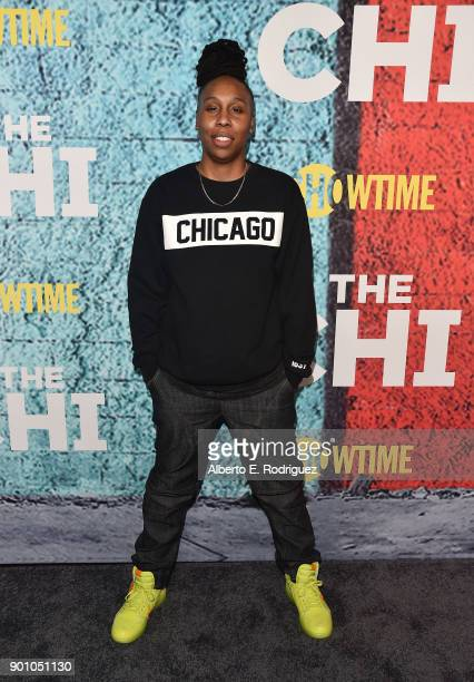 Creator/Executive producer/writer Lena Waithe attends the premiere of Showtime's 'The Chi' at The Downtown Independent on January 3 2018 in Los...
