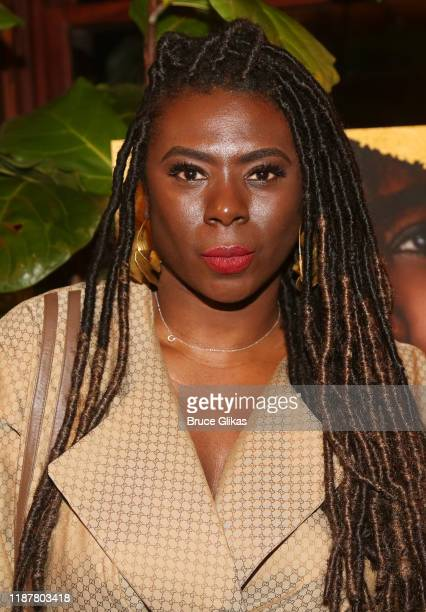 Creator/Host of North of 40 Podcast Maryam Myika Day poses at the celebration for the North of 40 Podcast Launch at Dapper Dan Atelier on November 14...