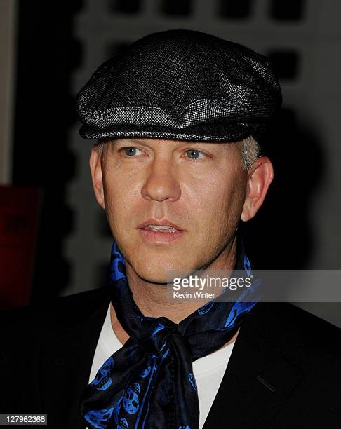 """Creator/producer Ryan Murphy arrives at the premiere of FX Network's """"American Horror Story"""" at the Cinerama Dome on October 3, 2011 in Los Angeles,..."""