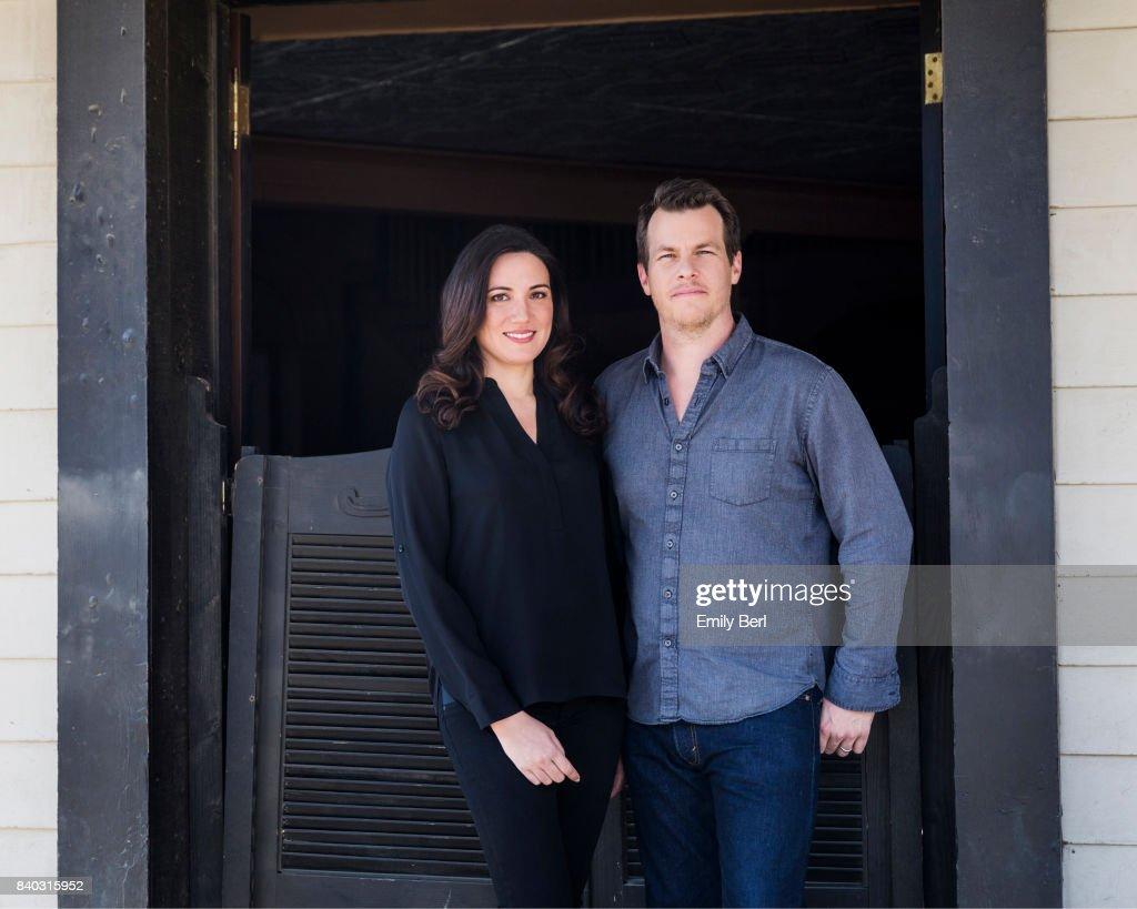 Jonathan Nolan and Lisa Joy, New York Times, October 2, 2016 : News Photo