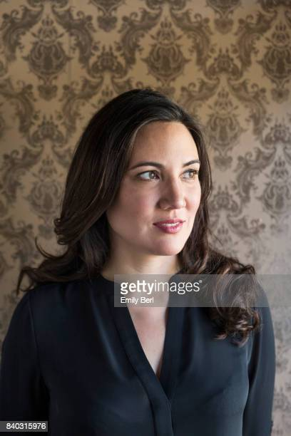 Creators and directors Lisa Joy of HBO's 'Westworld' is photographed for New York Times on September 21 2016 in Santa Clarita California