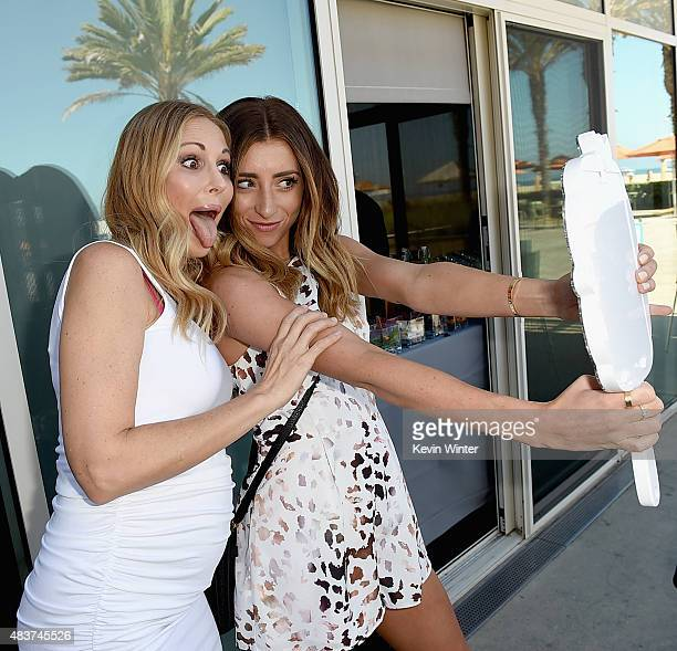 Creators Brooke Mahan and Lauren Elizabeth attend The 5th Annual Streamy Awards Nomination Celebration at Annenberg Community Beach House on August...