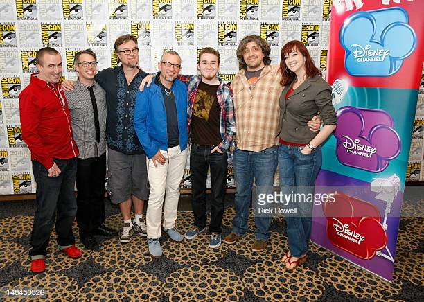 ANIMATION Creators Dan Povenmire and Jeff 'Swampy' Marsh from 'Phineas and Ferb' Alex Hirsch from 'Gravity Falls' Noah Z Jones and Maxwell Atoms from...
