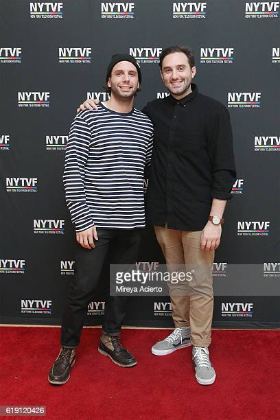 Creators of the HBO Series Animals Phil Matarese and Mike Luciano attend the 12th Annual New York Television Festival at Helen Mills Theater on...