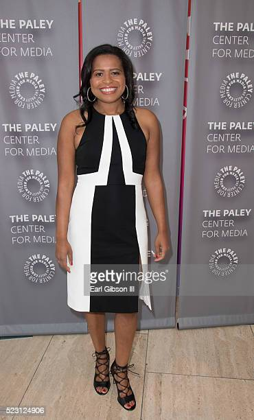 Creator,Showrunner, Executive Producer Courtney A. Kemp attends the Paley Center For Media Presents Chris Albrecht And Courtney A. Kemp In...