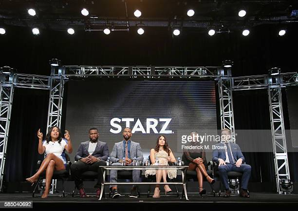 Creator/showrunner/executive producer Courtney A Kemp executive producer/actor Kurtis 50 Cent Jackson actor Omari Hardwick Lela Loren Naturi Naughton...
