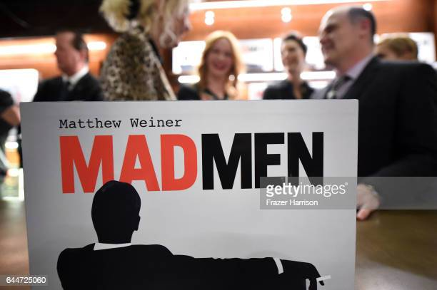 Creator/writer Matthew Weiner attends the launch for Matthew Weiner's Book Mad Men at TASCHEN Store Beverly Hills on February 23 2017 in Beverly...