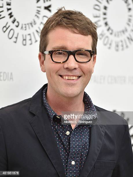 Creator/writer Sam Shaw attends The Paley Center For Media Presents An Evening With WGN America's 'Manhattan' at The Paley Center for Media on July 9...