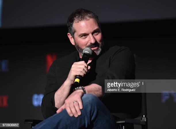 Creator/writer Scott Frank attends #NETFLIXFYSEE For Your Consideration Event For 'Godless' at Netflix FYSEE At Raleigh Studios on June 9 2018 in Los...