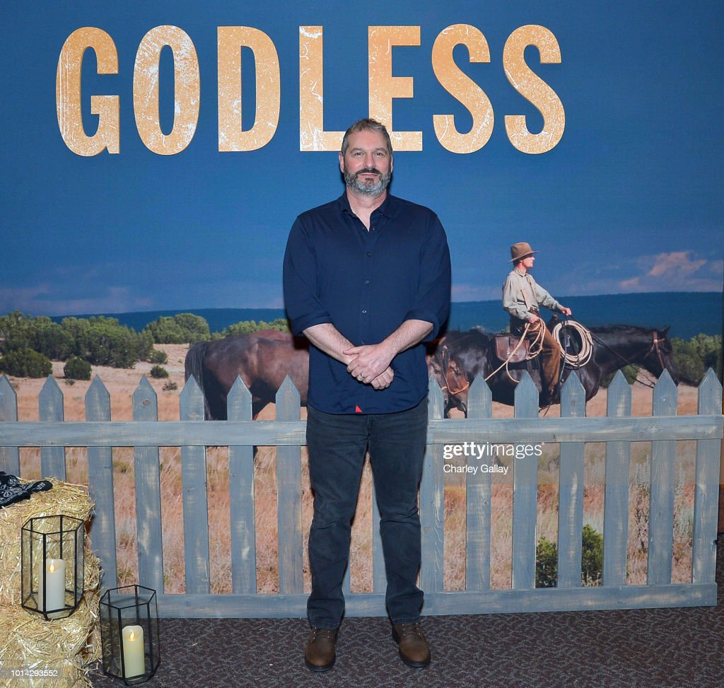 Creator/Writer/Director/Executive Producer Scott Frank attends Netflix Celebrates 12 Emmy Nominations For 'Godless' at DGA Theater on August 9, 2018 in Los Angeles, California.
