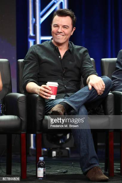 Creator/Writer/EP/Actor Seth MacFarlane of 'The Orville' speaks onstage during the FOX portion of the 2017 Summer Television Critics Association...