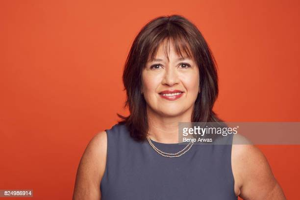 Creator/writer/executive producer Daisy Goodwin of PBS's 'Victoria' pose for a portrait during the 2017 Summer Television Critics Association Press...
