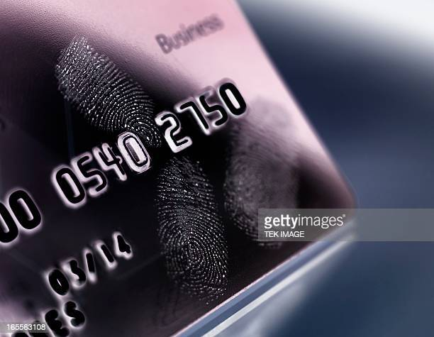 Credit card fraud, conceptual image