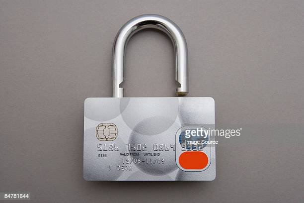 credit card lock - identity theft stock pictures, royalty-free photos & images