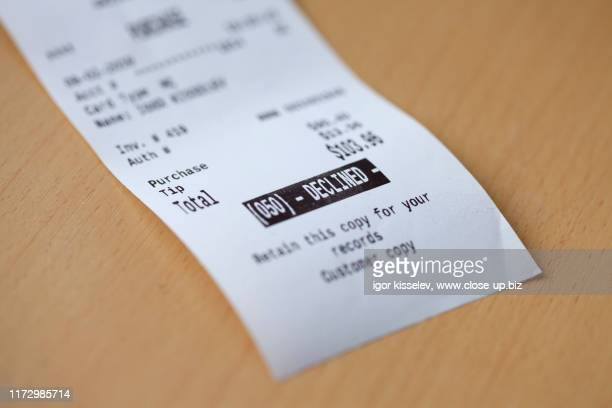 credit card payment failure - decline stock pictures, royalty-free photos & images
