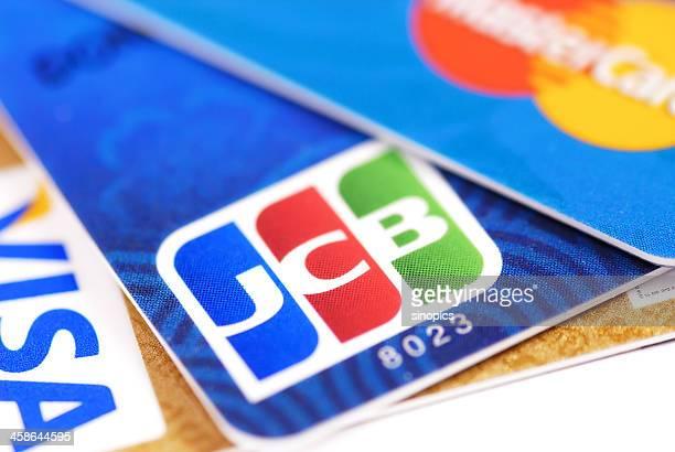 jcb のクレジットカード - ショベルカー ストックフォトと画像