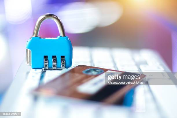 credit card security concept - white collar crime stock pictures, royalty-free photos & images
