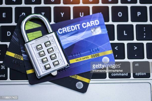 credit card security - identity theft stock pictures, royalty-free photos & images