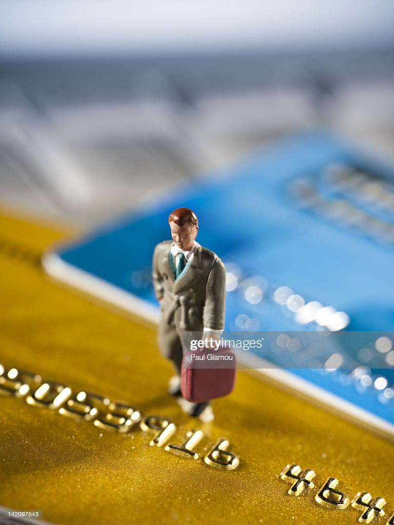 Credit cards and business : ストックフォト