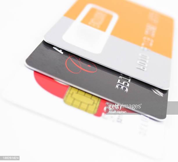 cartões de crédito - cartão de presente - fotografias e filmes do acervo