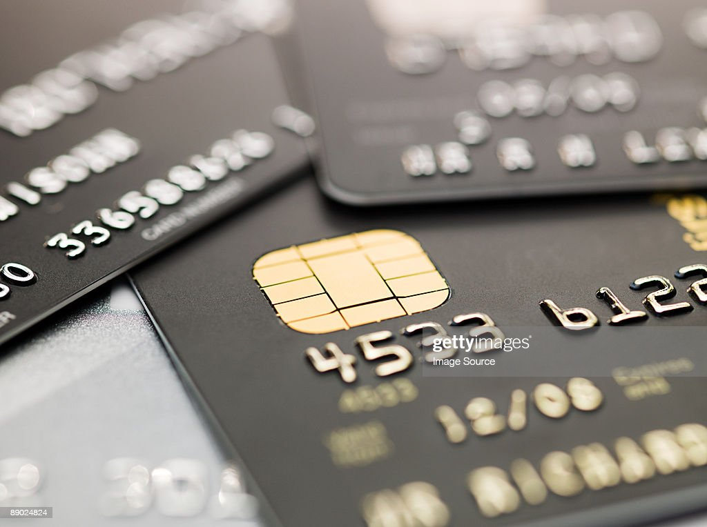 Credit cards : Stock Photo