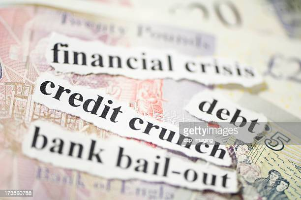 credit crunch - bailout stock pictures, royalty-free photos & images
