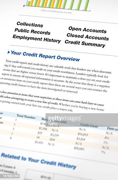 credit report - credit score stock pictures, royalty-free photos & images