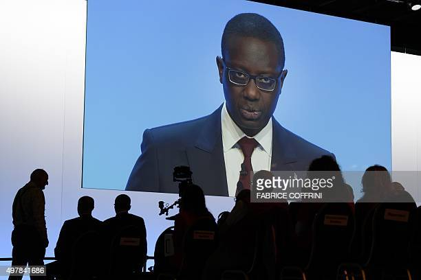 Credit Suisse CEO Tidjane Thiam takes part in an extraordinary shareholders meeting of the Swiss banking group on November 19 2015 in Bern AFP PHOTO...