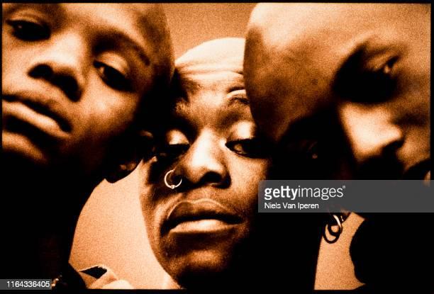 Credit To The Nation, portrait, Glastonbury Festival, United Kingdom, 26th June 1994.
