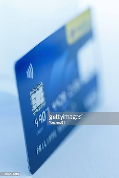 Creditcard, blurred