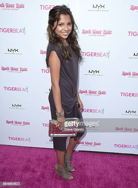 Cree Cicchino arrives at the Tiger Beat's PreParty Around FOX's Teen Choice Awards at HYDE Sunset Kitchen Cocktails on July 28 2016 in West Hollywood...