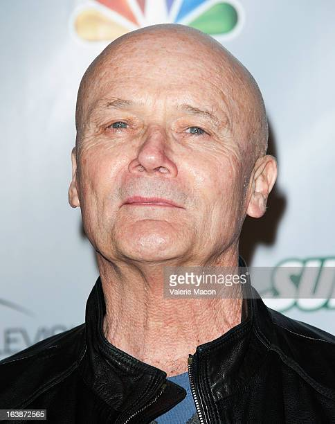 Creed Bratton arrives at 'The Office' series finale wrap party at Unici Casa Gallery on March 16 2013 in Culver City California