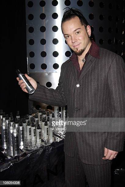 Creed with William Whatley during 2002 Billboard Music Awards Backstage Creations Talent Retreat Show Day at MGM Grand Hotel in Las Vegas Nevada...
