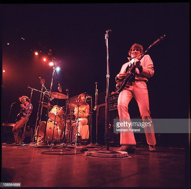 Creedence Clearwater Revival perform on stage London LR Stu Cook Doug Clifford John Fogerty