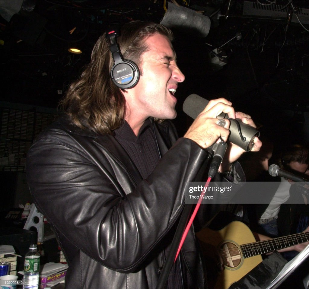 Scott stapp of creed stock photos and pictures getty images creeds scott stapp during creed perform a special acoustic set at 923 krock studios in new kristyandbryce Images