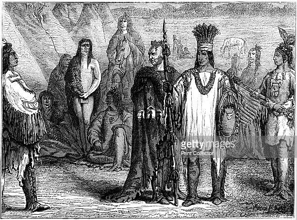 Creek Indians early 19th century The Creek fought a war of resistance against white immigration into their lands in 18131814 After their defeat much...