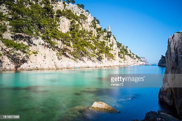 calanques - calanques stock pictures, royalty-free photos & images