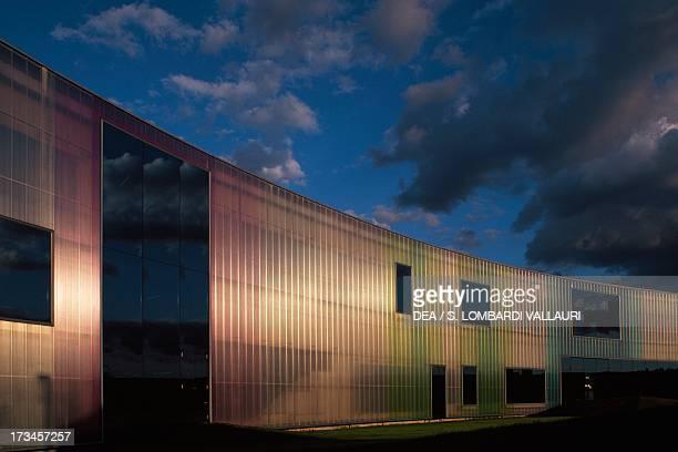 Creekside Laban Dance Centre designed by Herzog and De Meuron London United Kingdom
