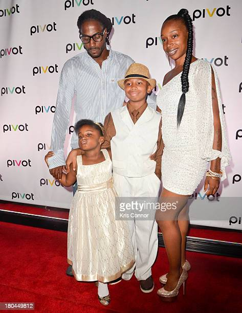 "Creep Evans, Jayda Jacques, Aijahmeir Young and Lyala attend ""Jersey Strong"" Series New York Premiere at Tribeca Cinemas on September 12, 2013 in New..."