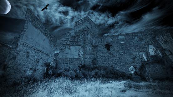 Creepy Castle - gettyimageskorea