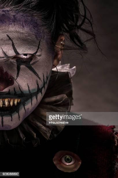 Creepy Clown Staring At You