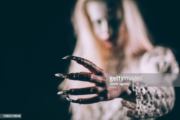 creepy creature - monster fictional character stock pictures, royalty-free photos & images