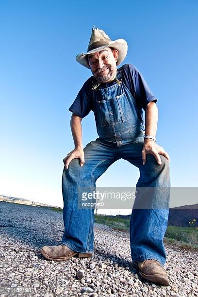 creepy drunk guy - redneck stock photos and pictures