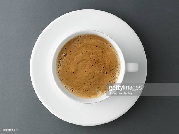 crema espresso - espresso stock photos and pictures
