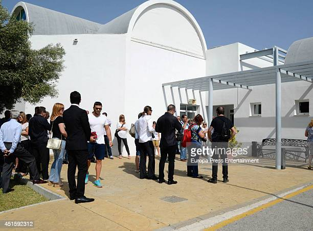 Cremation of Raymond Nakachian on June 19 2014 in Estepona Spain