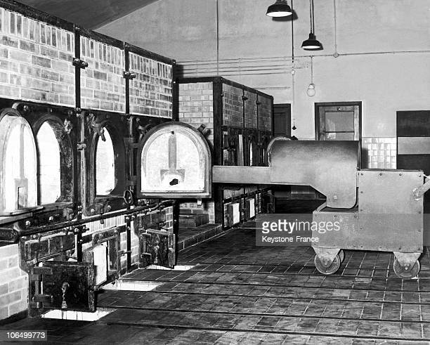 Crematory Ovens At The Buchenwald Concentration Camp After 1945
