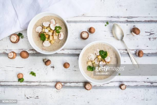 Creme of mushroom soup