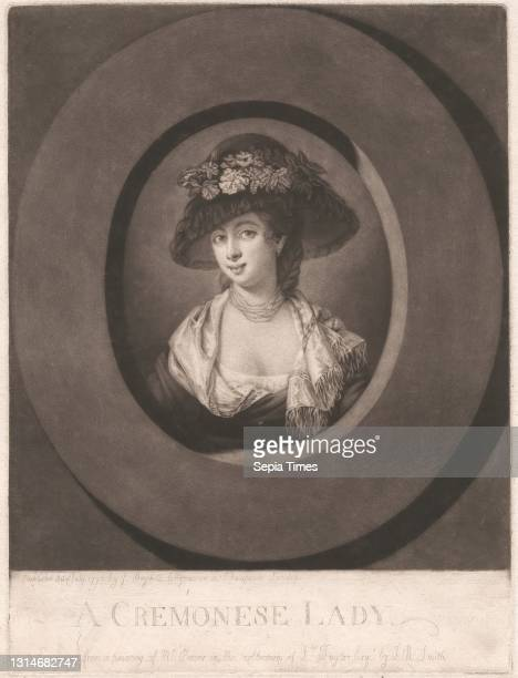 Cremonese Lady, Print made by John Raphael Smith, 1752–1812, British, after Matthew William Peters, 1742–1814, British, Published by John Boydell,...